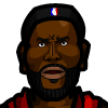 LeBron James #4 Face