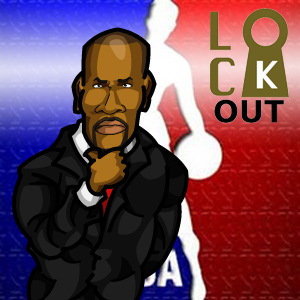 NBA Lockout Logo #2