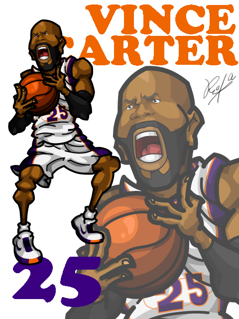 Vince Carter #1 Home