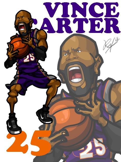 Vince Carter #1 Away