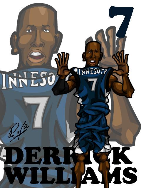 Derrick Williams Away