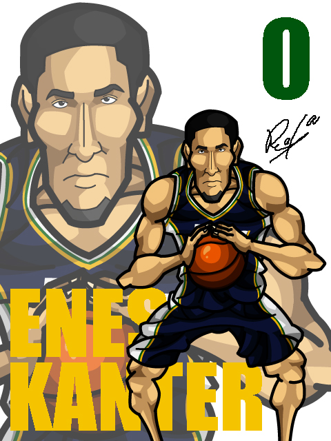 Enes Kanter Away