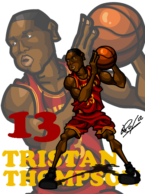 Tristan Thompson Away