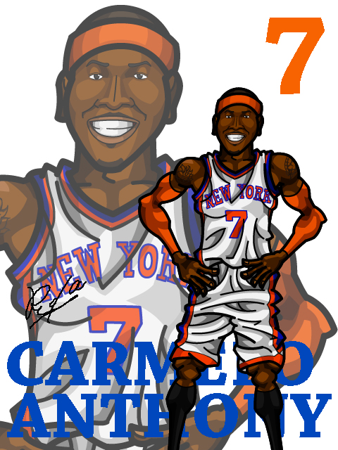 Carmelo Anthony #5 Home