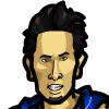 JJ Redick #1 Face