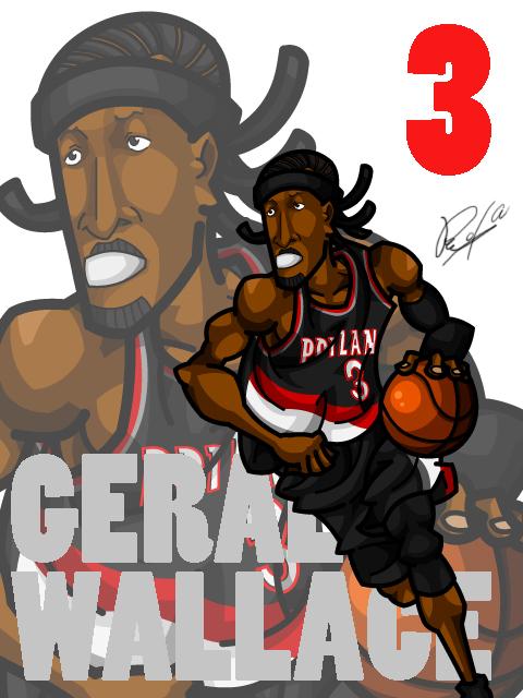 Gerald Wallace #2 Away