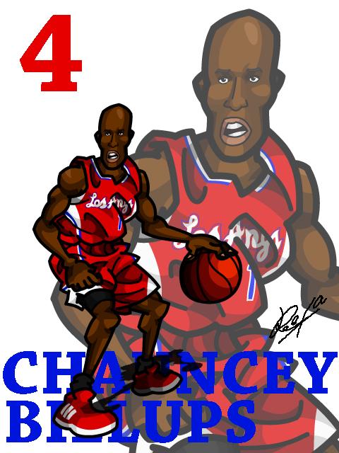 Chauncey Billups #2 LAC