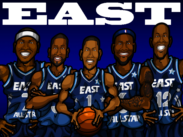 NBA All-Star 2012 EAST