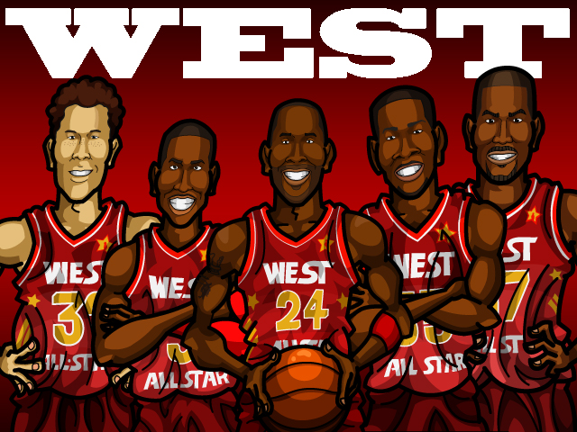 NBA All-Star 2012 WEST