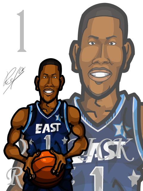 Derrick Rose #3 AS