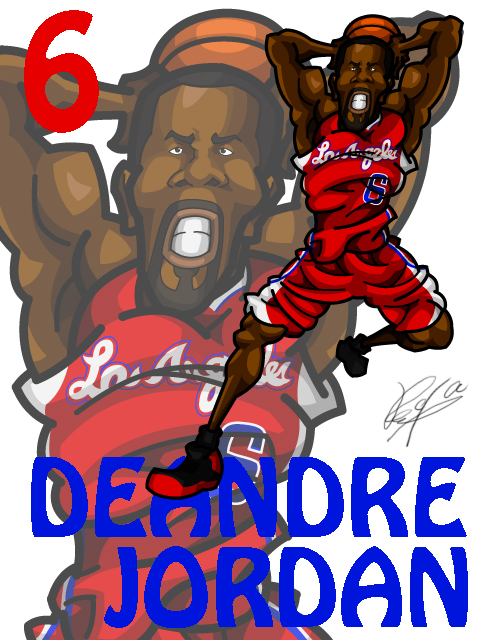 DeAndre Jordan Away