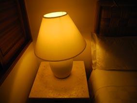 リゾートの明かり