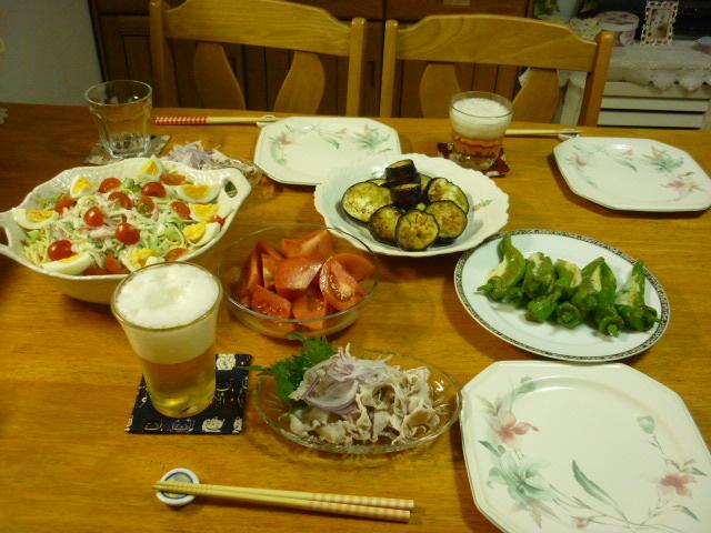 夏野菜のお料理
