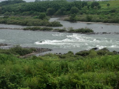 木曽川 流れ