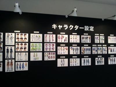 201303コードギアス原画展_キャラクター設定1