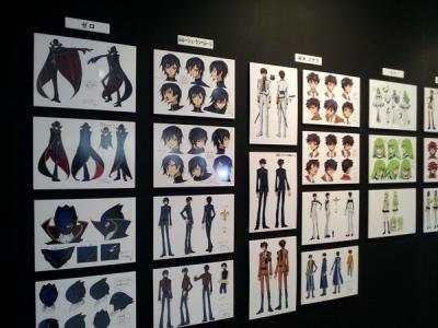 201303コードギアス原画展_キャラクター設定2