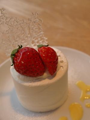 苺のショートケーキ@TARO CAFE