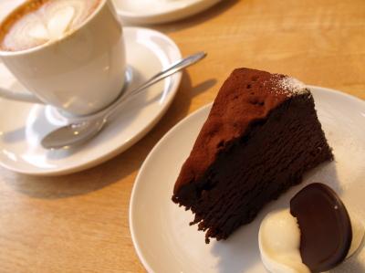 ガトーショコラ@TARO CAFE