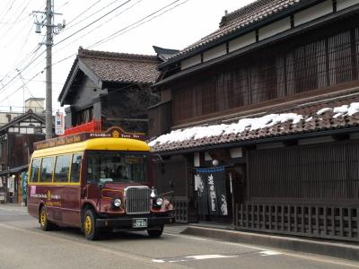 まちなか周遊バス「ハイカラさん」@七日町通り