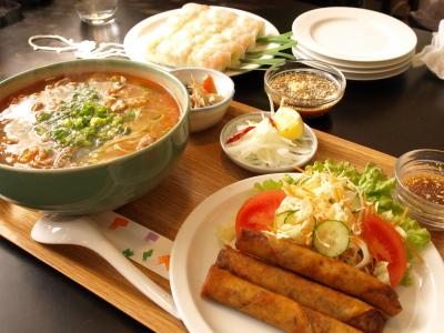 Bセット チャゾー+日替わり麺@ミリ サイゴン