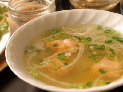 エビ団子スープ@ミリ サイゴン