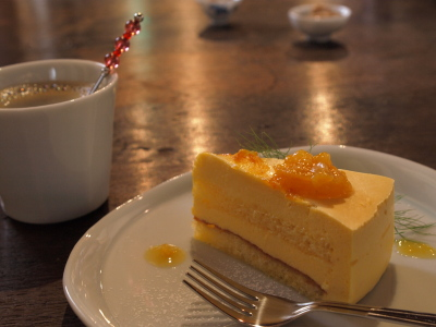 ぽんかんと甘夏のムースケーキ@三番山下