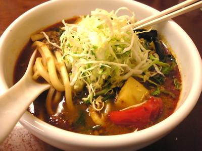 野菜カレーうどん@カレ吉