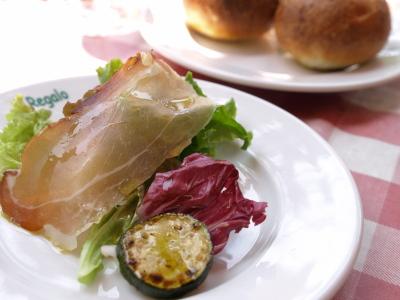 本日のおまかせ前菜&プチフランスパン@リストランテ イルレガーロ