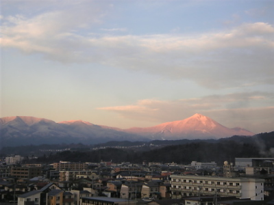 磐梯山(2010/12/16)