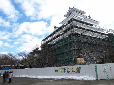 鶴ヶ城天守閣(2011/01/03)