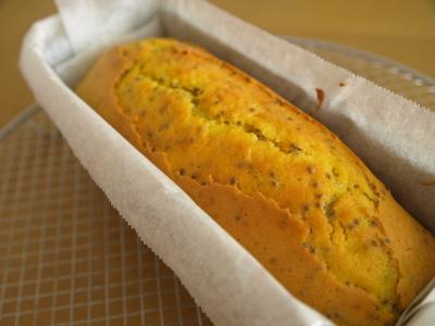 エゴマのパウンドケーキ
