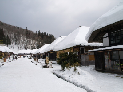 冬の大内宿_2011/02/05