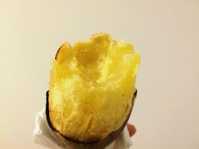焼き芋割りました!