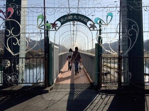 ロマンチック吊り橋
