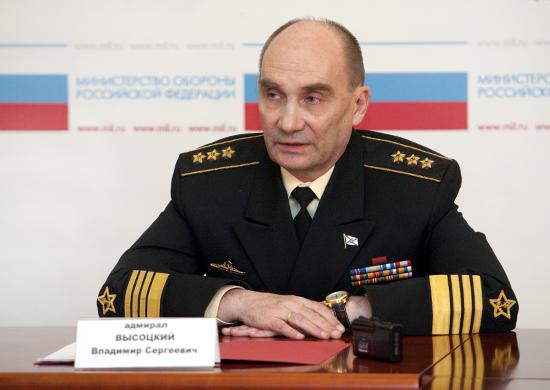 前ロシア海軍総司令官ウラジーミ...