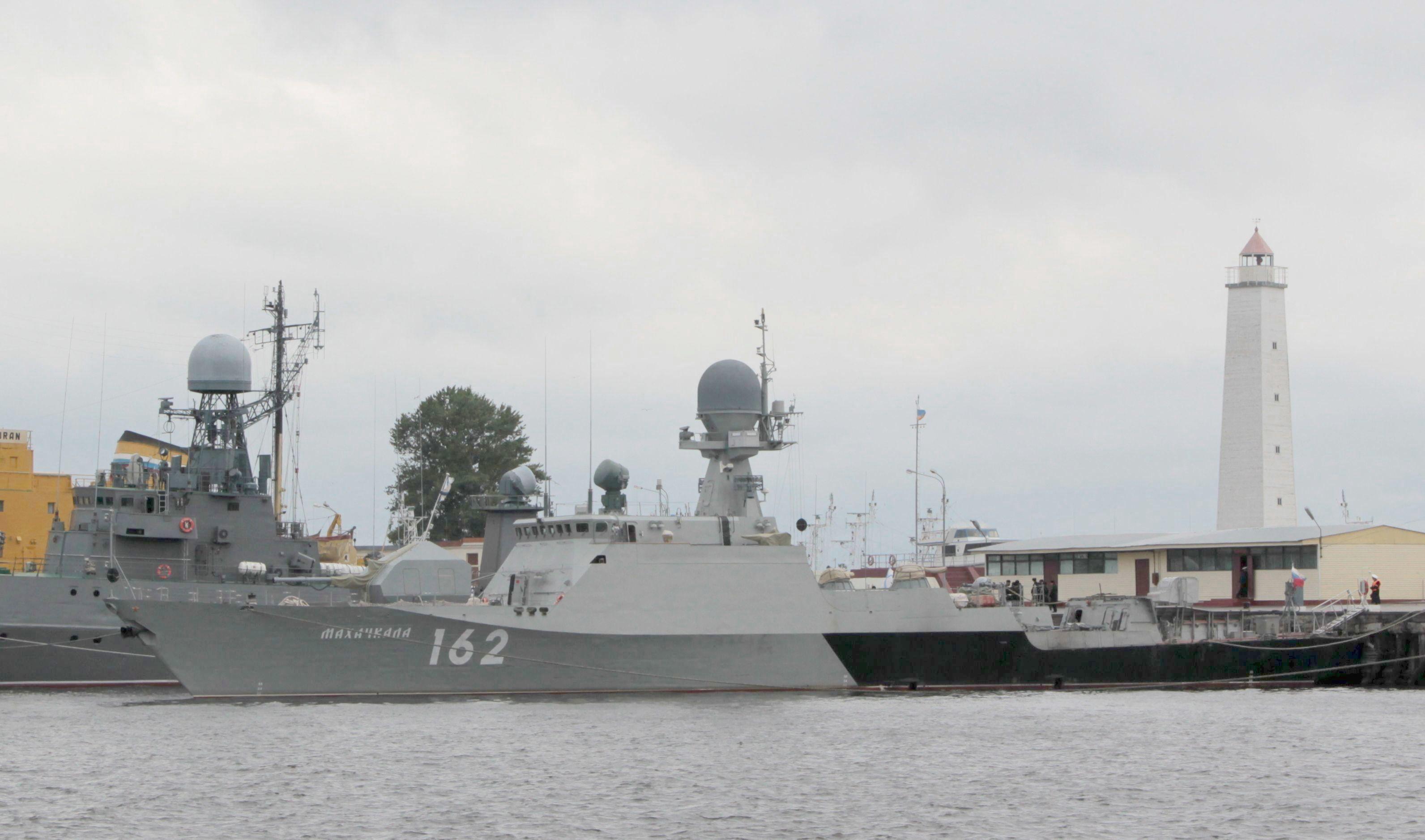 小型砲艦マハチカラ就役 | N.G....