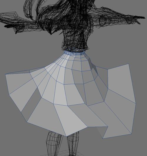 霊夢 スカート①