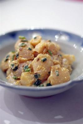 ホタテのピリ辛チーズ和え
