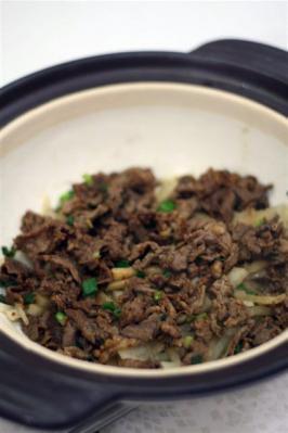 牛大根のピリ辛蒸し鍋3