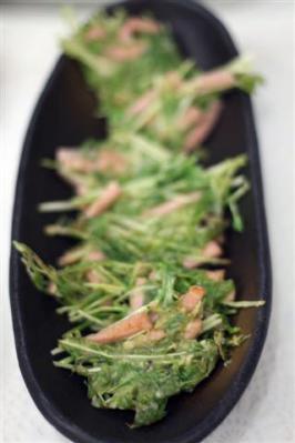 水菜のかき揚げ