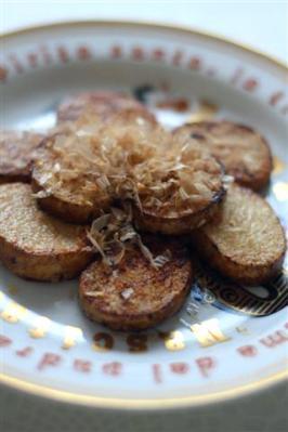 長芋のソテー、バター醤油風味