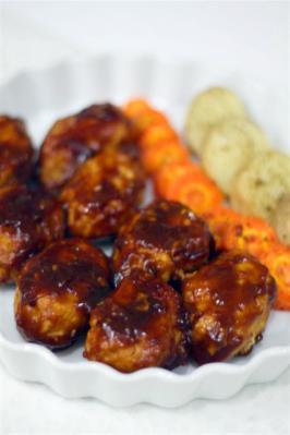 電子レンジで鶏ひき肉の煮込みハンバーグ