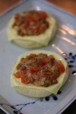 塩麹トマト納豆