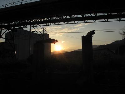 釜石の夕暮れ