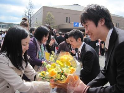09年度卒業式2