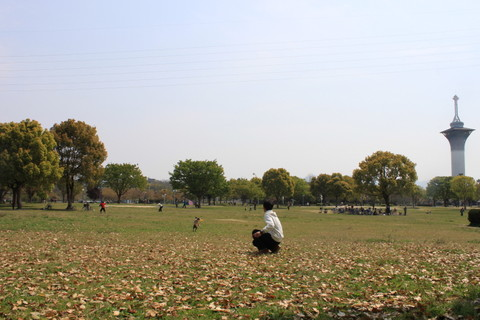 鶴見緑地4月 109