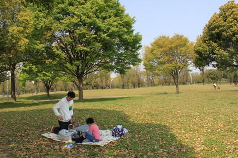 鶴見緑地4月 035