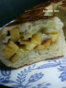 20100224チーズパンby酒粕酵母2