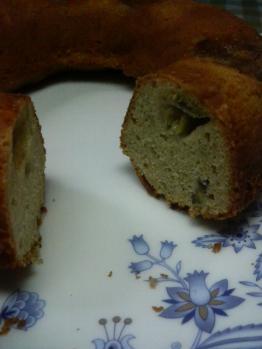 20110130バナナケーキ0