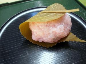 20110327桜餅